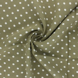 Viscose Fabric - light khaki Lola x 10cm