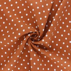 Viscose Fabric - pumpkin Lola x 10cm