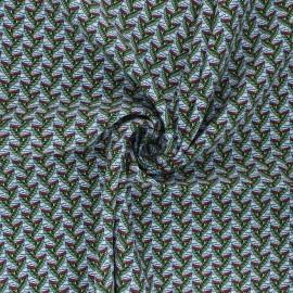 Tissu viscose Eko - vert x 10cm