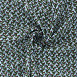 Viscose Fabric - green Eko x 10cm