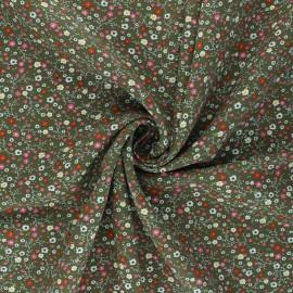 Tissu viscose Anna - vert kaki x 10cm