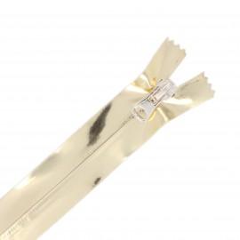 Fermeture Non Séparable Waterproof 20 cm Golda - doré