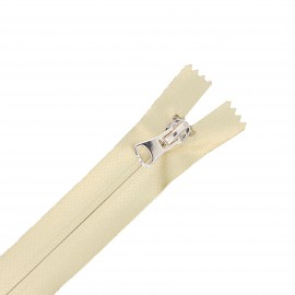 20 cm Closed Bottom Waterproof Zipper - gold Gala Party