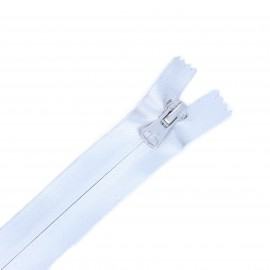 20 cm Closed Bottom Waterproof Zipper - silver Party King