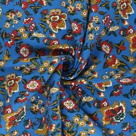 Viscose Fabric - blue Boho x 10cm