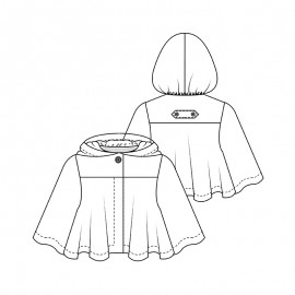 Cape Sewing Pattern - Lot of Things Cheminette