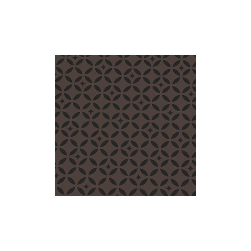 tissus pas cher tissu enduit coton mosa que taupe noir. Black Bedroom Furniture Sets. Home Design Ideas