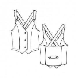 Vest Sewing Pattern - Lot of Things Harryette