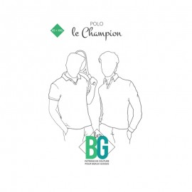 Patron Chemisette Homme Les BG - Le Champion