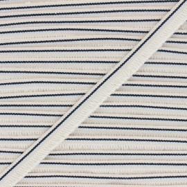 15mm Fringe trimming ribbon - raw/silver Shela x1m