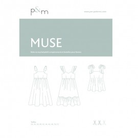 Patron P&M Patterns Robe/Top Muse - Du 34 au 52
