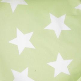 ♥ Coupon 30 cm X 140 cm ♥ Tissu étoiles Giant pistache