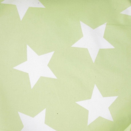 Giant Stars Fabric - Pistachio
