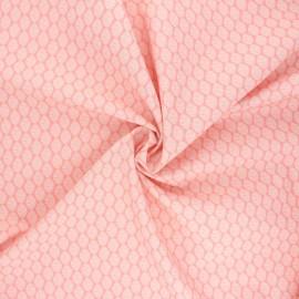 Poplin Cotton Monaluna fabric - Summer Foliage Modern Love x 10cm