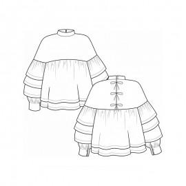Blouse Sewing Pattern - Pauline Alice Coeli