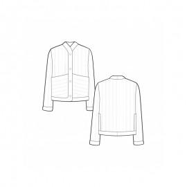 Jacket Sewing Pattern - Pauline Alice Ayora