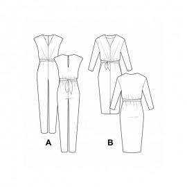 Jumpsuit Sewing Pattern - Pauline Alice Mila