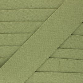 Elastique plat Lorna - vert kaki x 1m