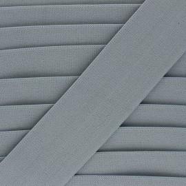 Elastique plat Lorna - gris x 1m