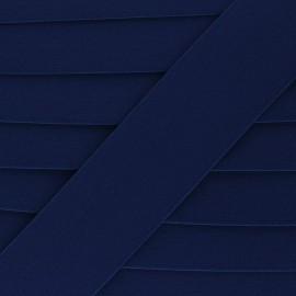 Elastique plat Lorna - bleu marine x 1m
