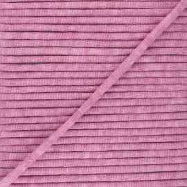 Mottled knit cord - old pink x 1m