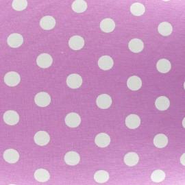 Dots V2 Jersey Fabric - Mauve x 10cm