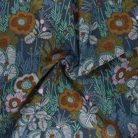 Cloud 9 cotton fabric - Embroidered Floral Grasslands x 10 cm