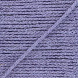 4mm burlap cord - lilac Yuta x 1m