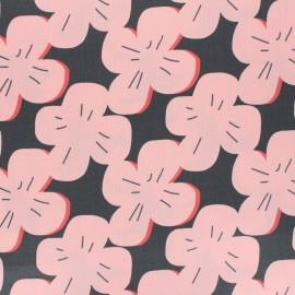 Cloud 9 Matte Coated cotton fabric - Pink Rose Laminates x 10 cm