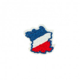 Iron-on patch - France Bleu Blanc Rouge
