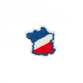 Iron-on patch - France Bleu Blanc Rouge