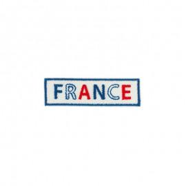 Iron-on patch - Logo France Bleu Blanc Rouge