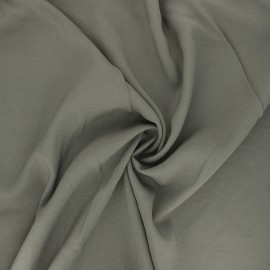 Tissu rayonne uni - noir x 10cm