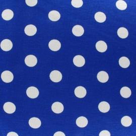 ♥ Coupon 200 cm X 160 cm ♥  Dots V2 Jersey Fabric - Navy Blue