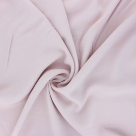 Plain Rayon fabric - pale pink x 10cm
