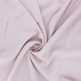 Tissu rayonne uni - rose pâle x 10cm