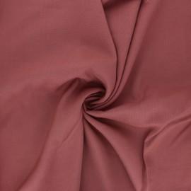 Tissu rayonne uni - bois de rose x 10cm
