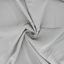 Plain Rayon fabric - mouse grey x 10cm