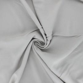Tissu rayonne uni - gris souris x 10cm
