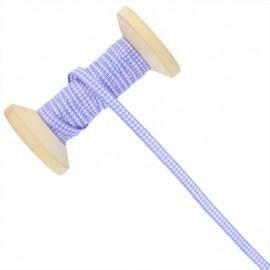 6 mm Gingham Ribbon Roll - Parma