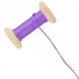 2,5 mm Rattail Cord Roll - Purple