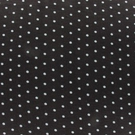 Mini Dots V2 Jersey Fabric - Brown x 10cm