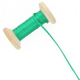 Queue de rat 2.5 mm - vert - bobine de 25 m
