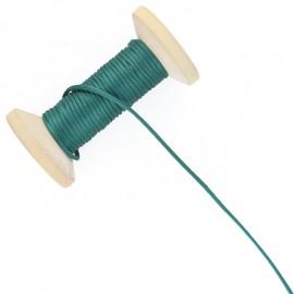 Queue de rat 2.5 mm - vert sapin - bobine de 25 m