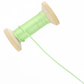 2,5 mm Rattail Cord Roll - Lime Green
