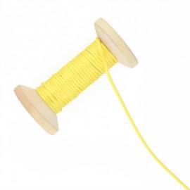 Queue de rat 2.5 mm - jaune - bobine de 25 m