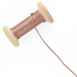 Queue de rat 2.5 mm - noisette - bobine de 25 m