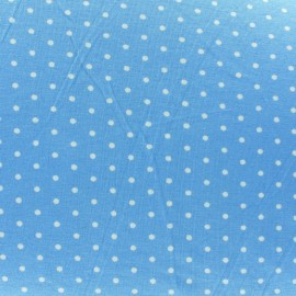 Mini Dots V2 Jersey Fabric - Sky x 10cm