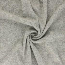 Lurex Knit Jersey fabric - grey green Dazzling x 10cm