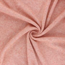 Tissu maille jersey lurex Dazzling - orange x 10cm